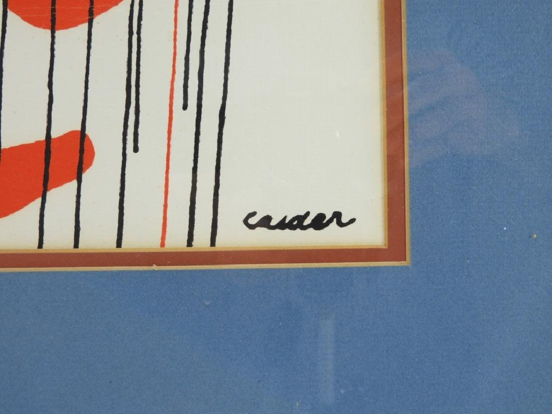 Alexander Calder Tapestries Exhibition Poster - 4