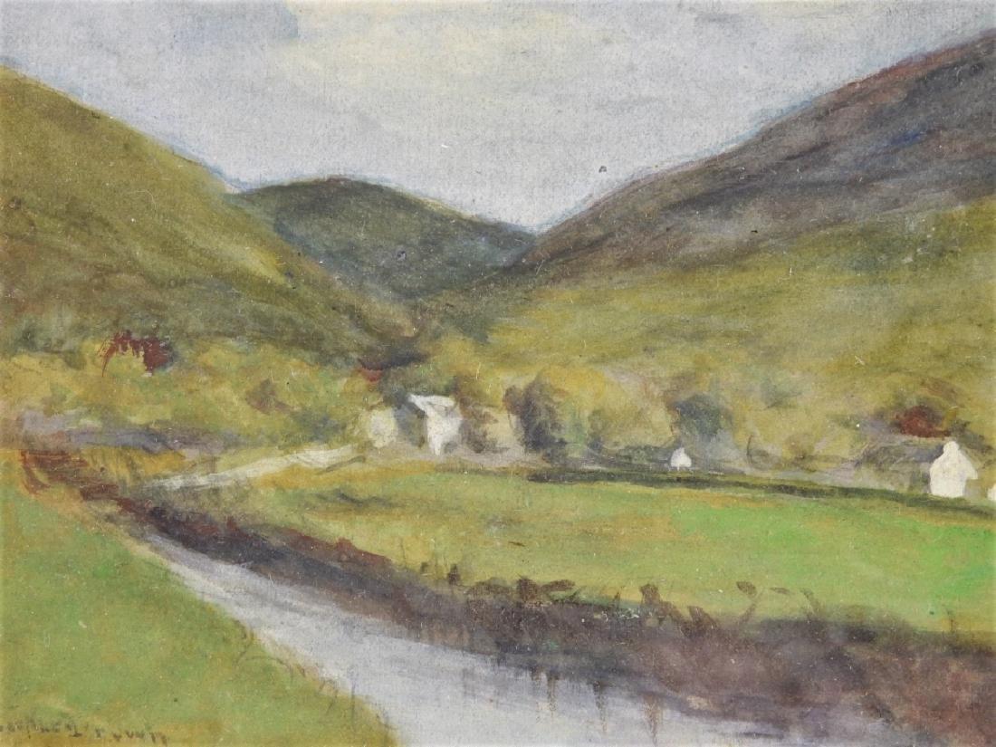 William Staples Drown Village Landscape Painting - 3