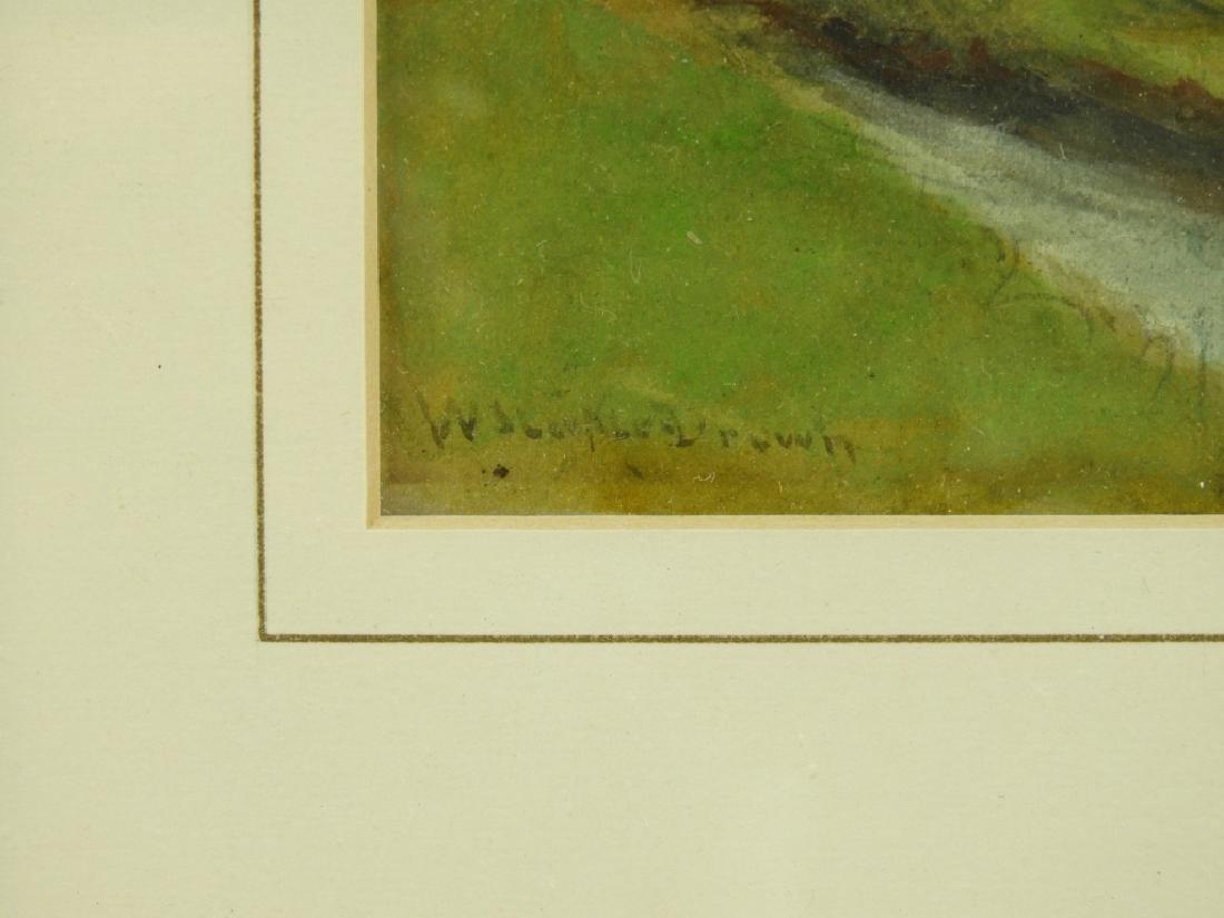 William Staples Drown Village Landscape Painting - 4