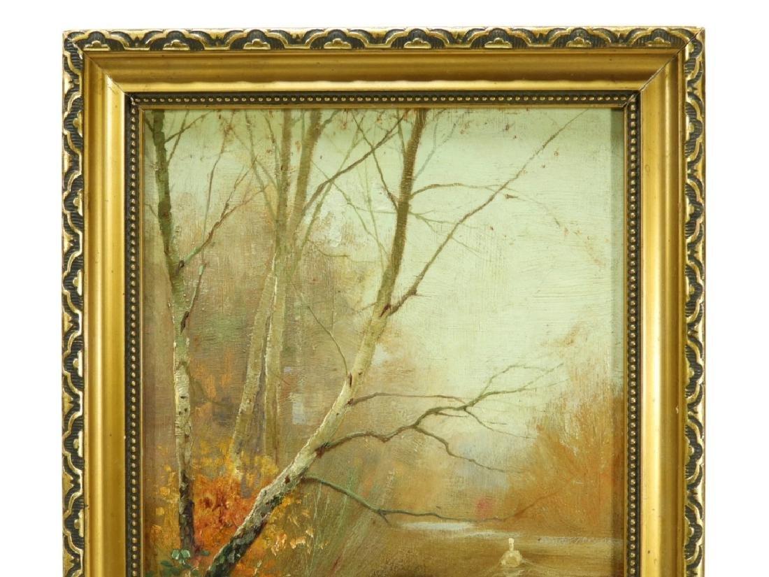 Worthington Whittredge Hudson River OP Painting - 2