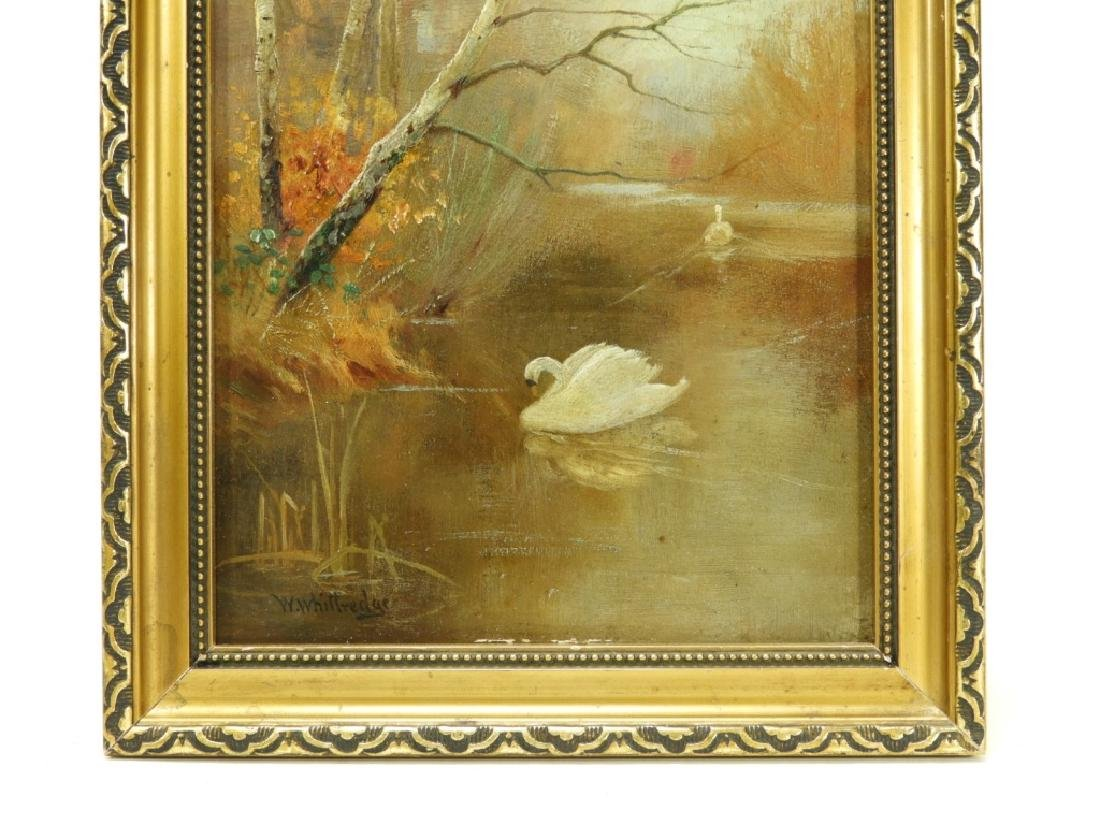 Worthington Whittredge Hudson River OP Painting - 3