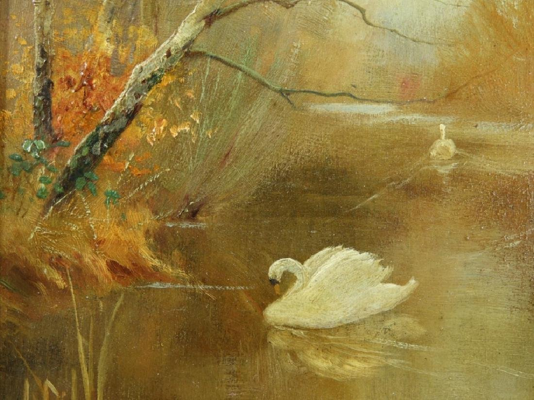 Worthington Whittredge Hudson River OP Painting - 4