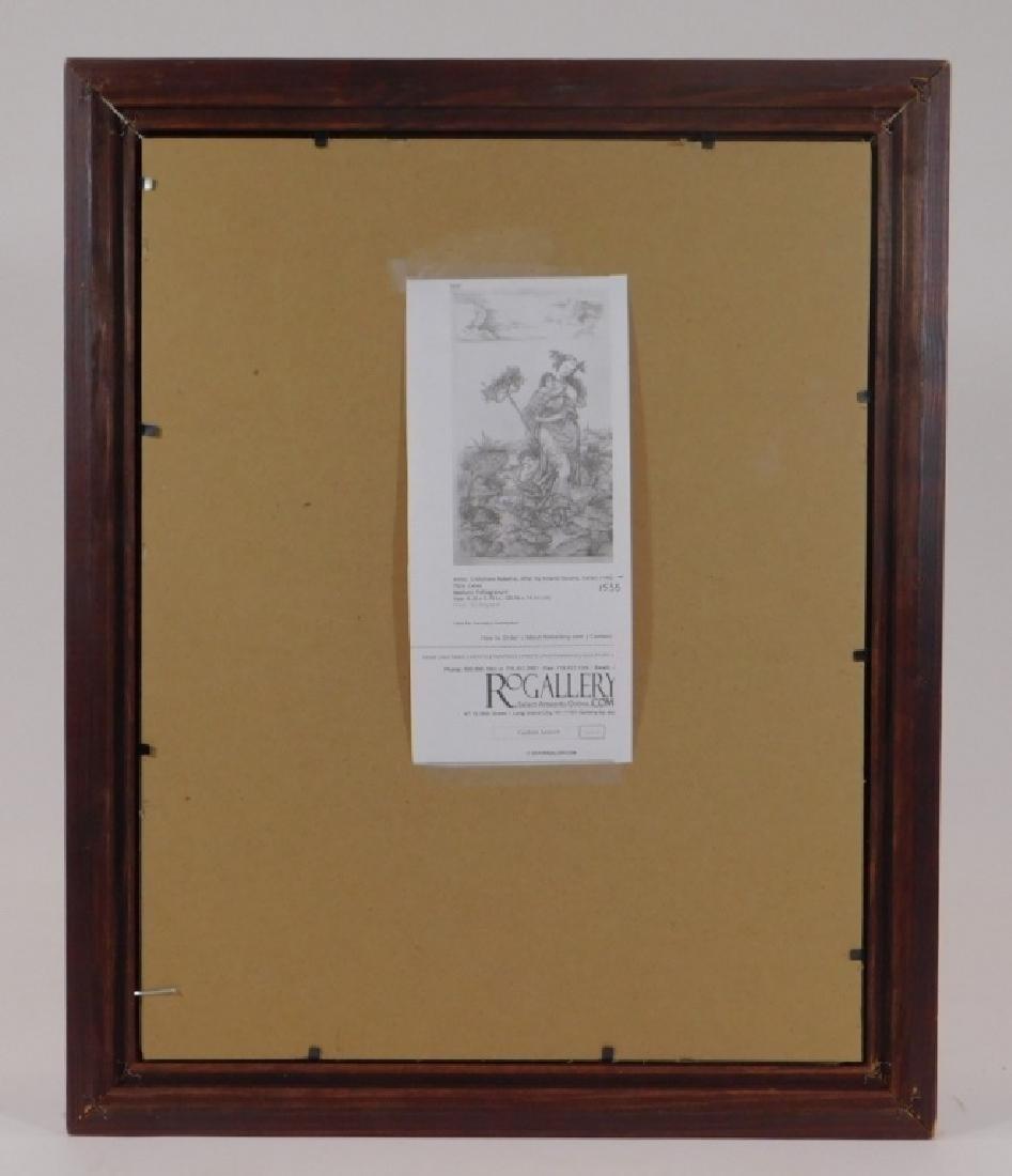 Cristofano Robetta Ceres Allegorical Satyr Gravure - 5