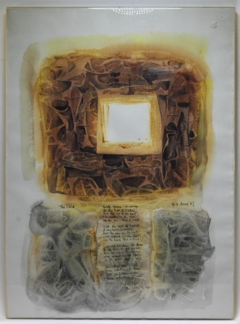 Mignonette Cheng Poem Stone Window Painting