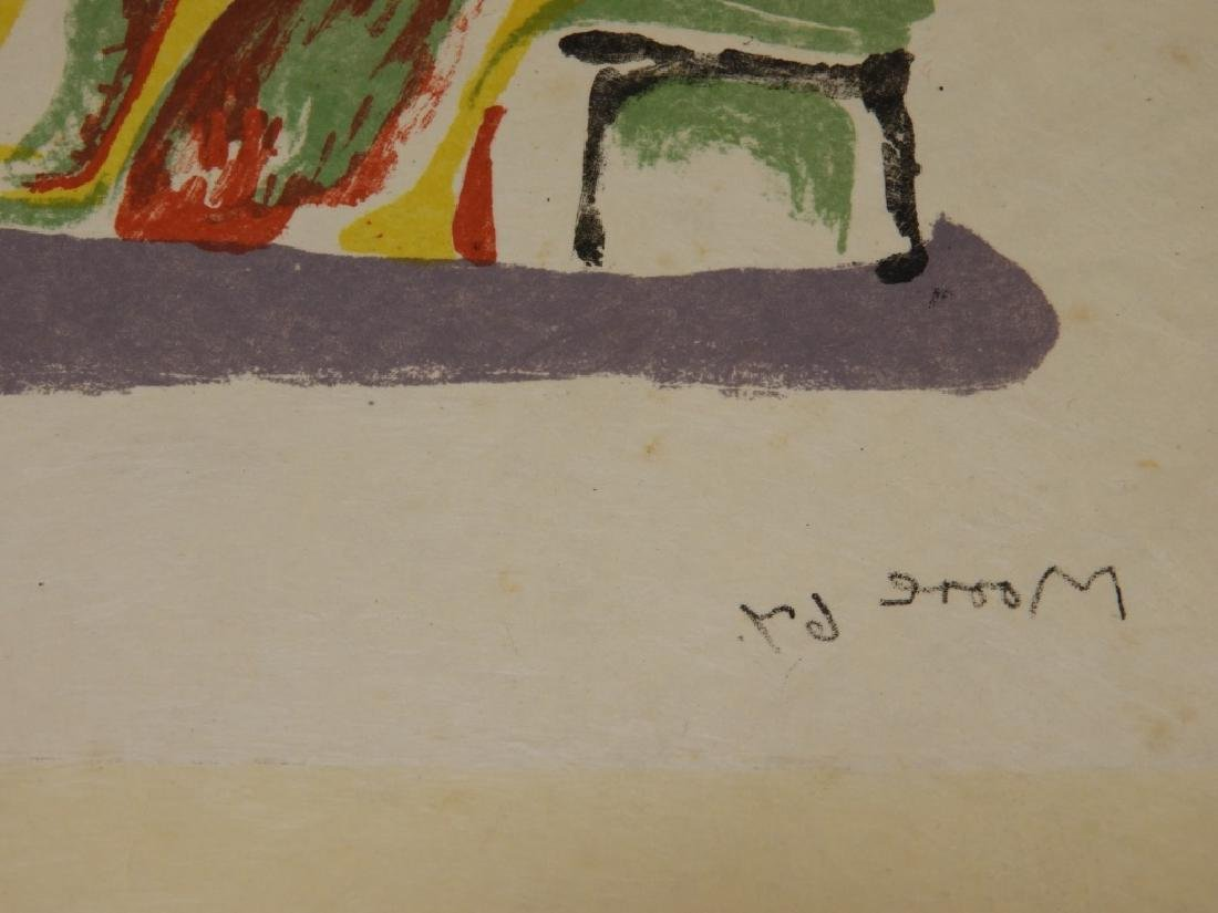 Henry Moore Shelter Sketch Book Cover Lithograph - 5