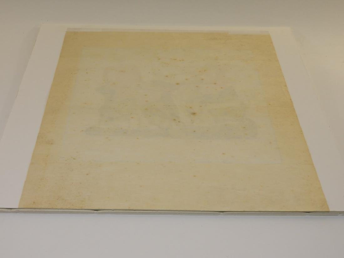 Henry Moore Shelter Sketch Book Cover Lithograph - 7