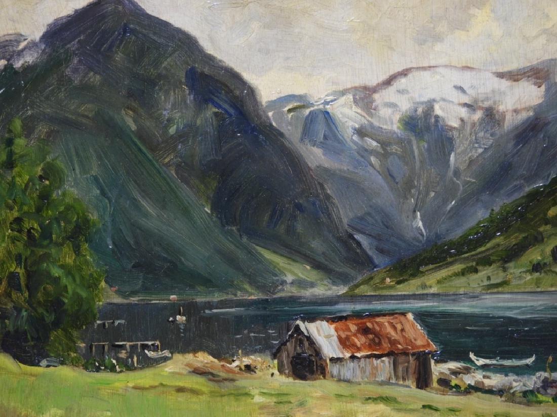 Gardner Symons Mountain Lake Landscape Painting - 2