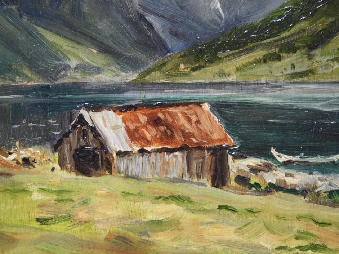 Gardner Symons Mountain Lake Landscape Painting - 3
