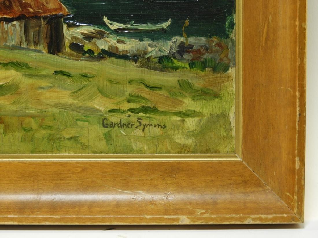 Gardner Symons Mountain Lake Landscape Painting - 4