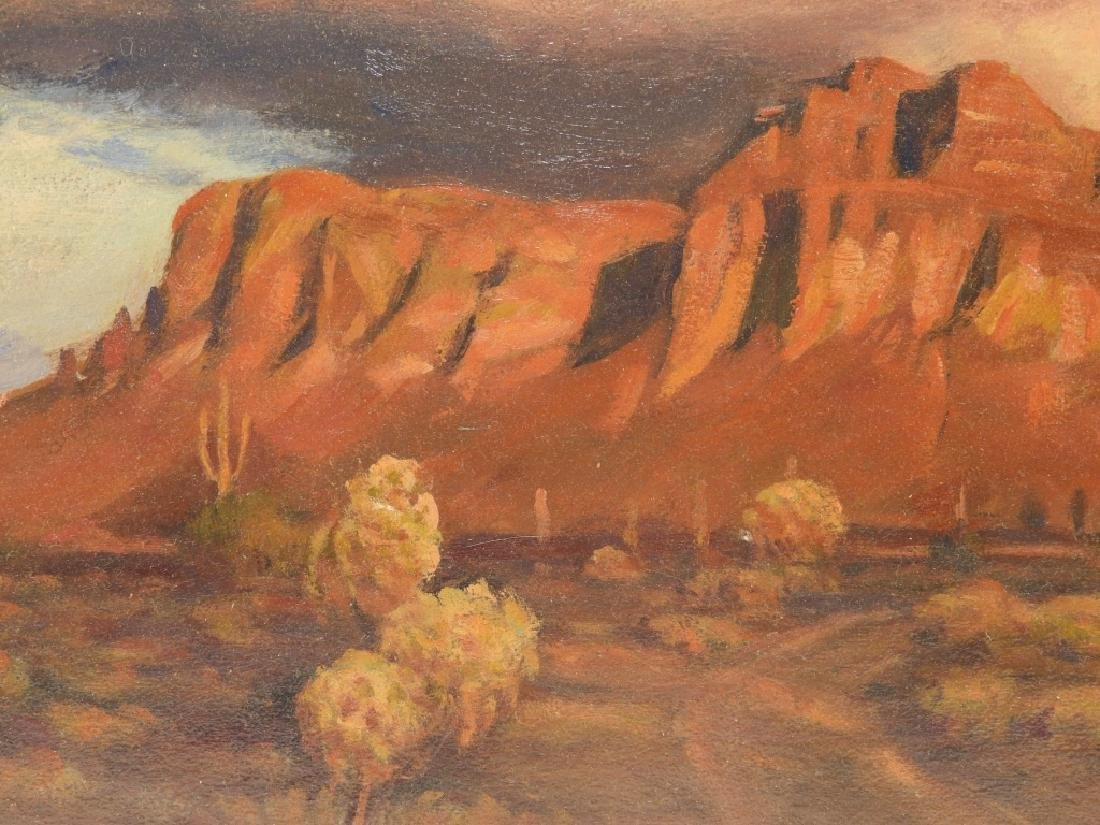 Harold Dunbar Southwestern Landscape O/B Painting - 3