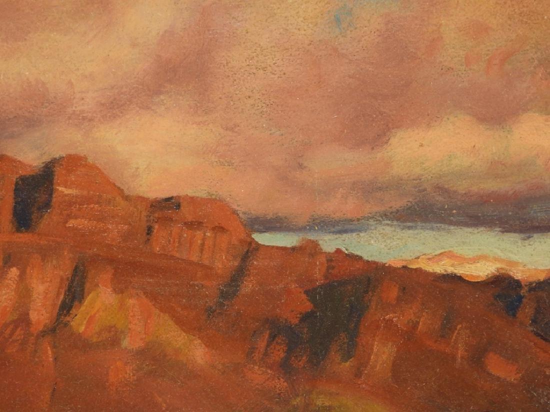 Harold Dunbar Southwestern Landscape O/B Painting - 4