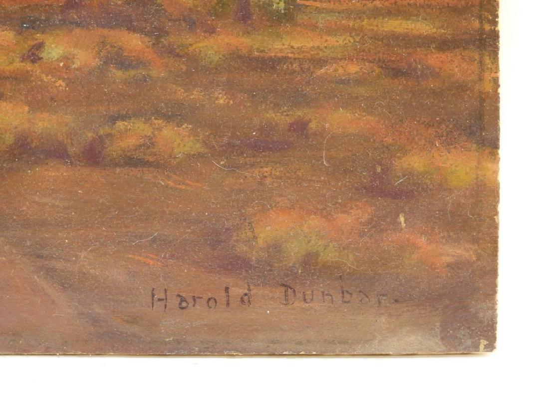 Harold Dunbar Southwestern Landscape O/B Painting - 5