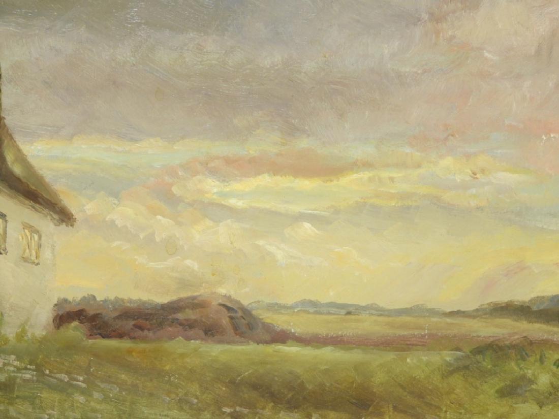 Einar Madvig O/B Impressionist Farm Landscape - 2