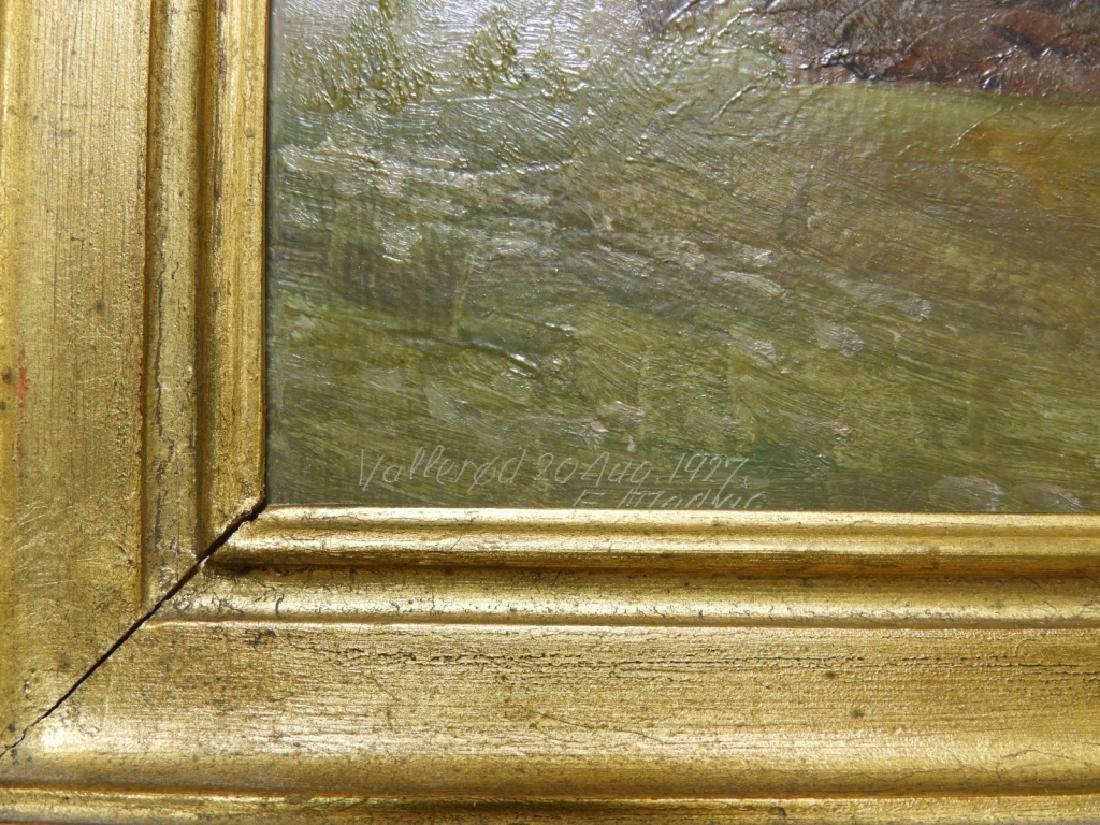 Einar Madvig O/B Impressionist Farm Landscape - 3