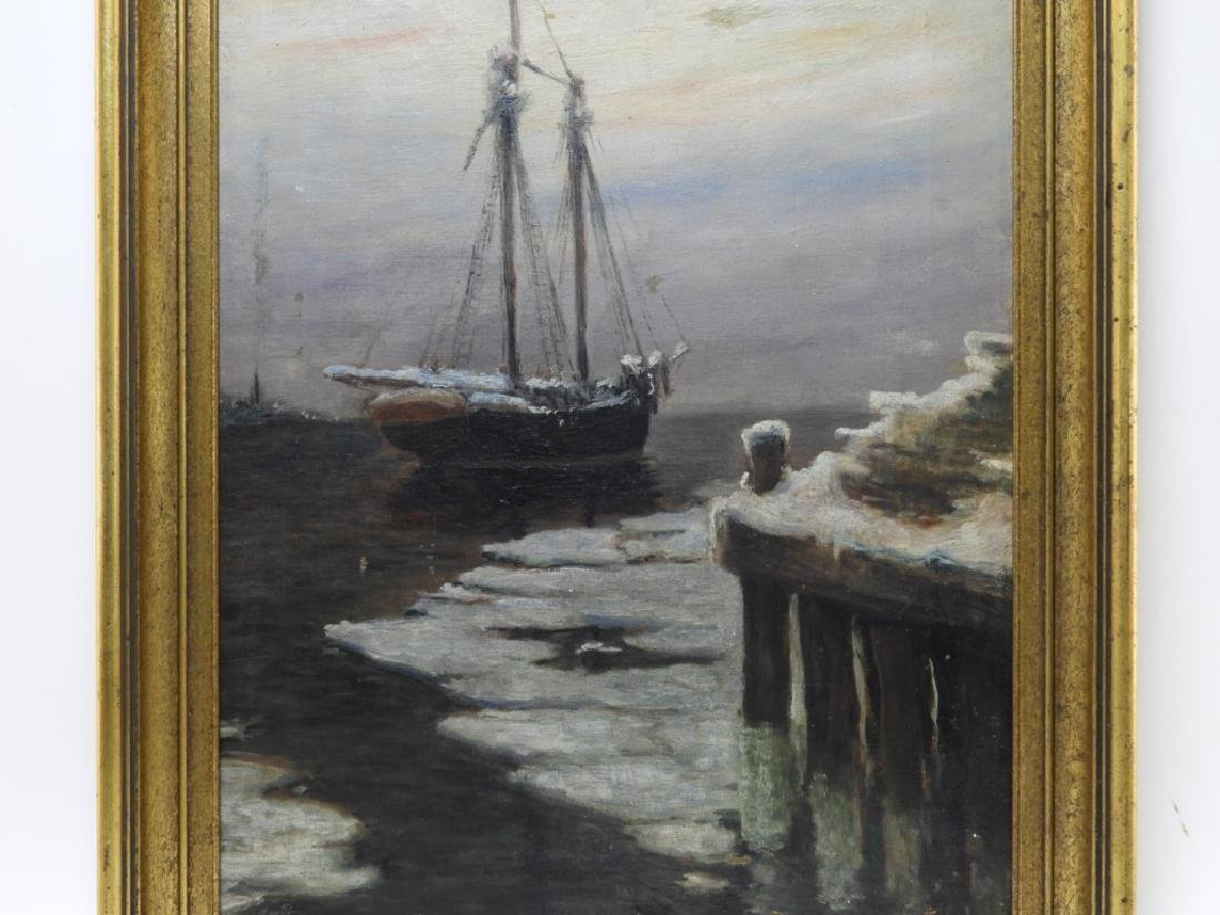 Frank Vining Smith Nocturnal Seascape Painting - 2