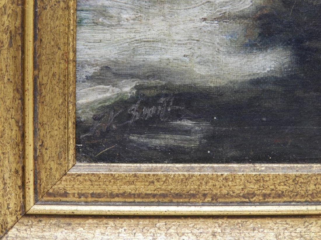 Frank Vining Smith Nocturnal Seascape Painting - 6
