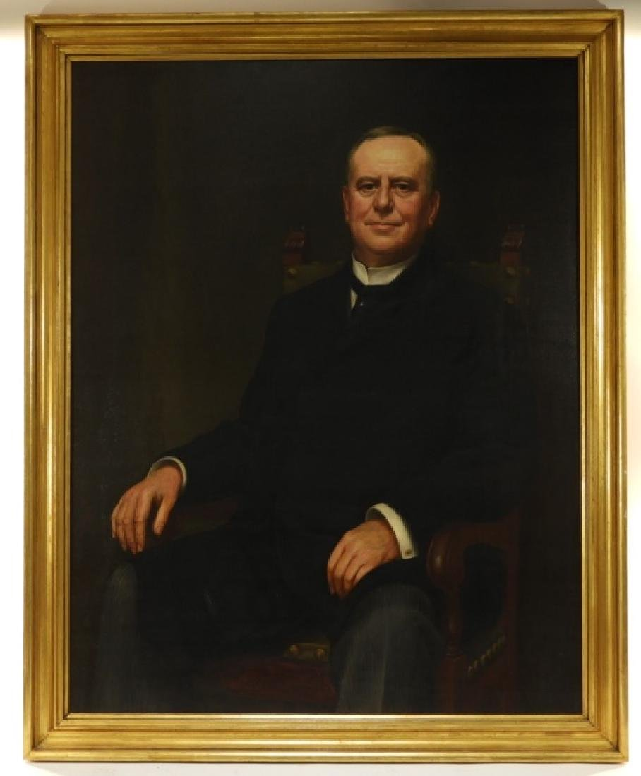 Jean Paul Selinger O/C Portrait of Railway Pioneer