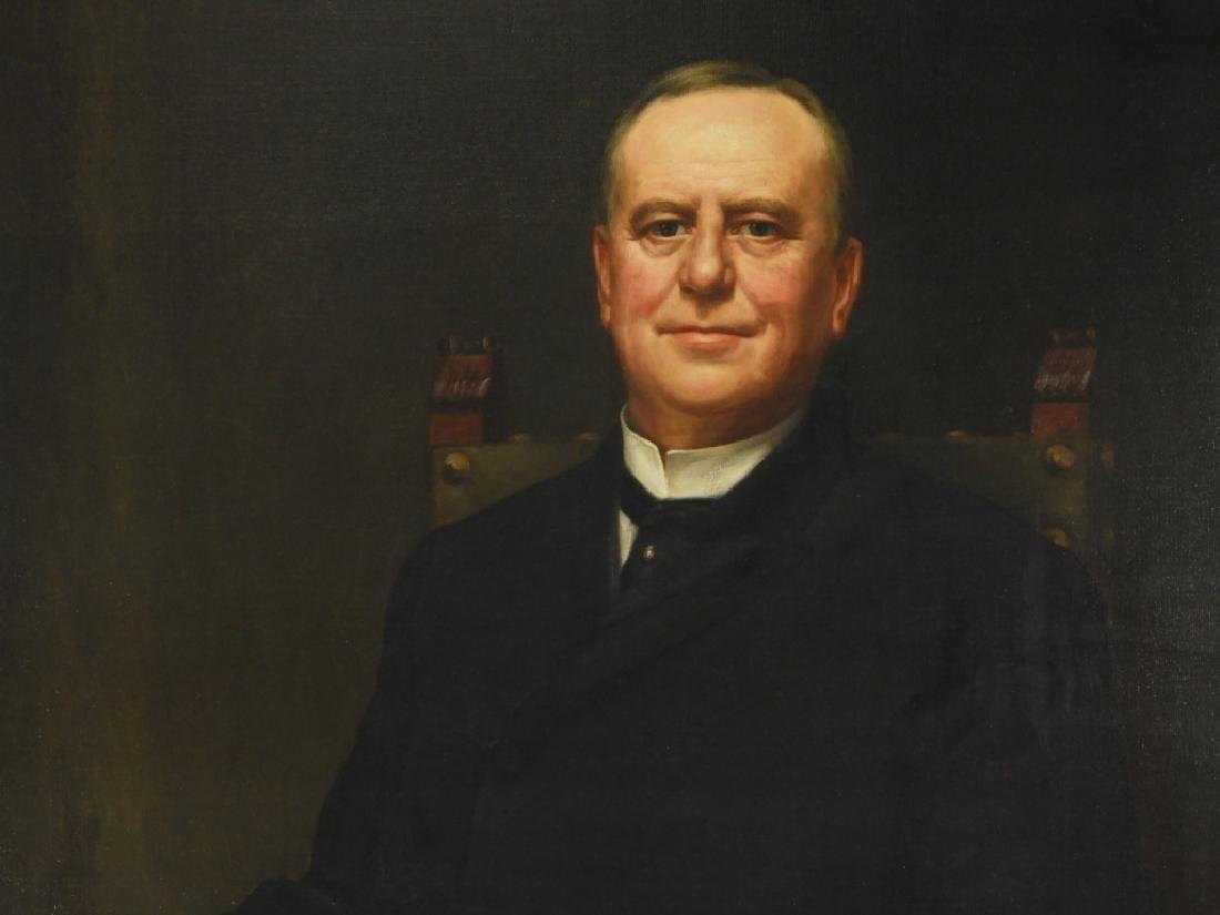 Jean Paul Selinger O/C Portrait of Railway Pioneer - 2