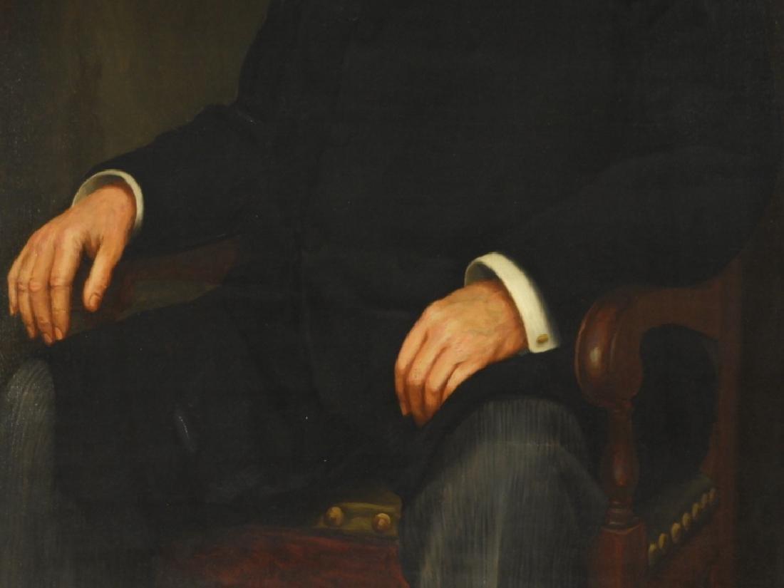 Jean Paul Selinger O/C Portrait of Railway Pioneer - 3