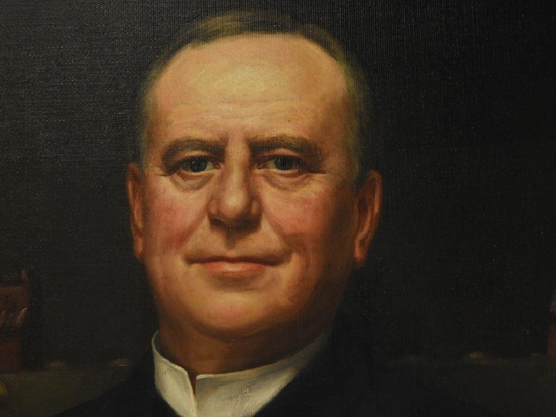 Jean Paul Selinger O/C Portrait of Railway Pioneer - 5