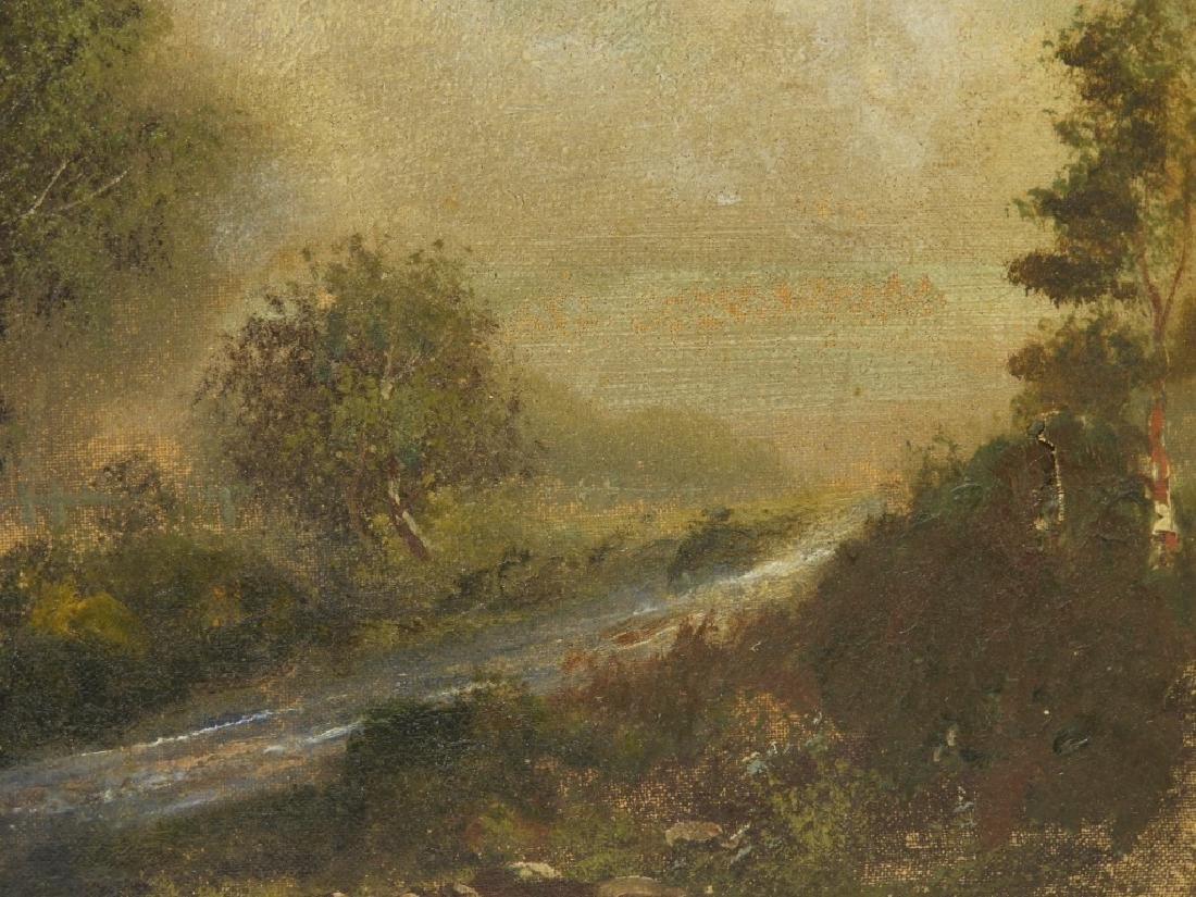 Emil Huenten German River Landscape Painting - 4