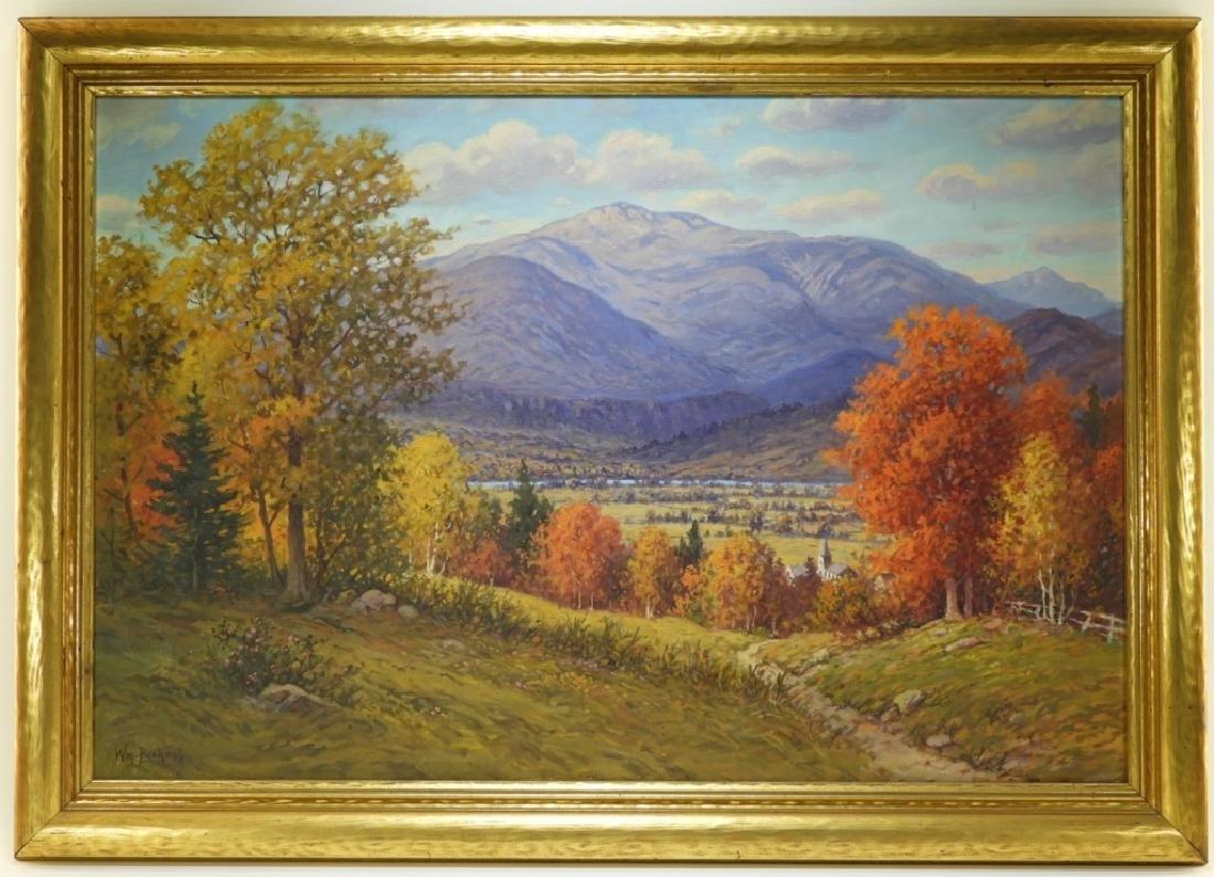 William Paskell Illuminated Mt. Chocorua Landscape