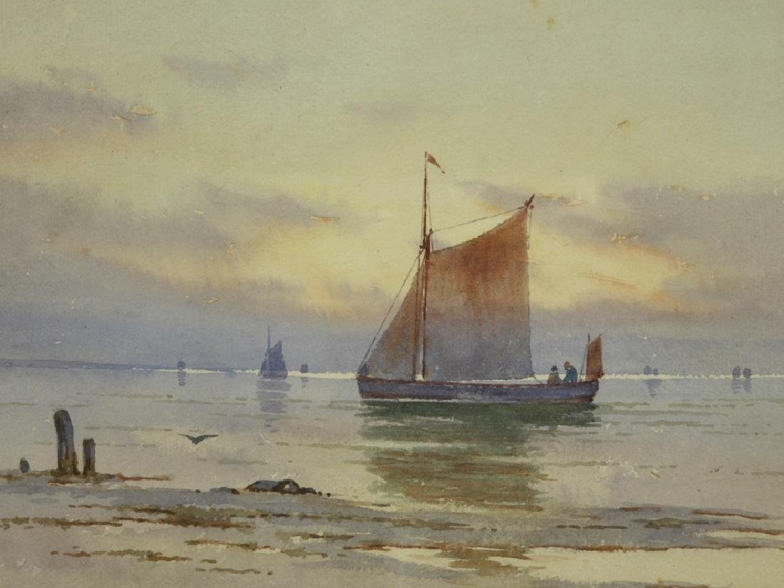 William Paskell Impressionist Painting of Sailboat - 2