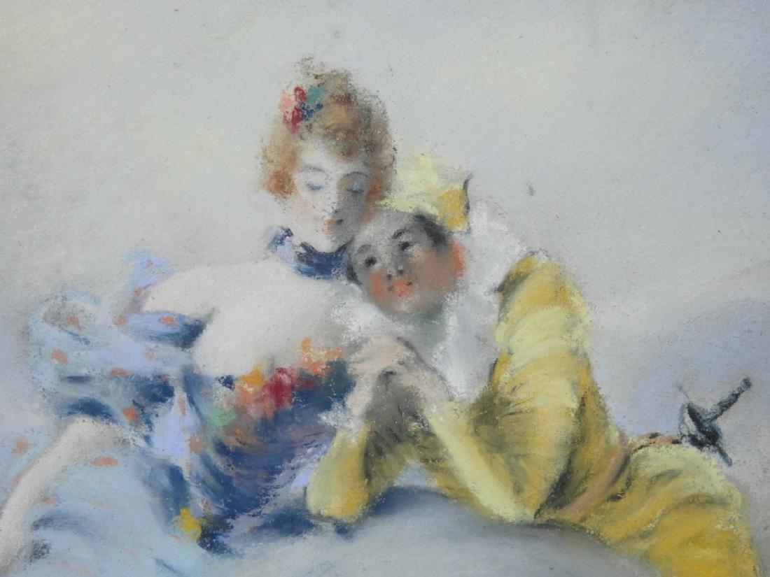 Louis Morin Impressionist Masquerade Painting - 2