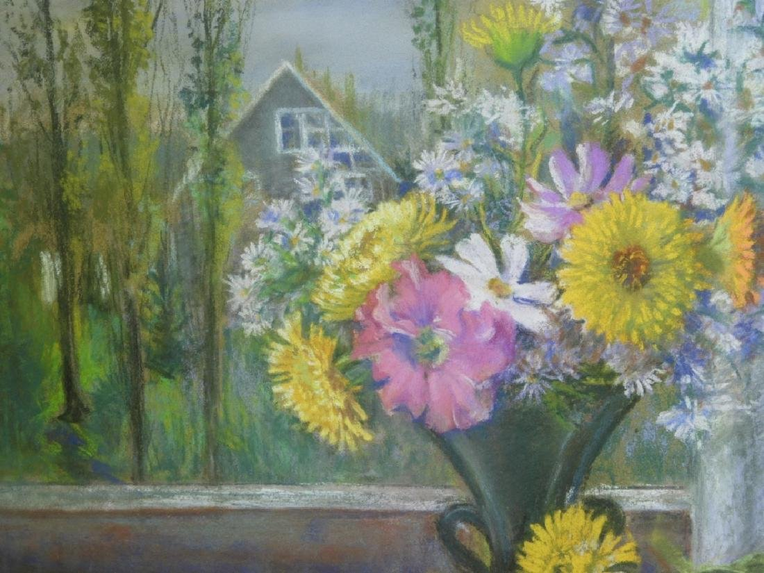 PR. Ruth Berry Floral Fruit Still Life WC Painting - 3