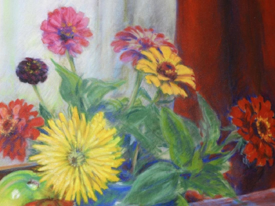 PR. Ruth Berry Floral Fruit Still Life WC Painting - 5