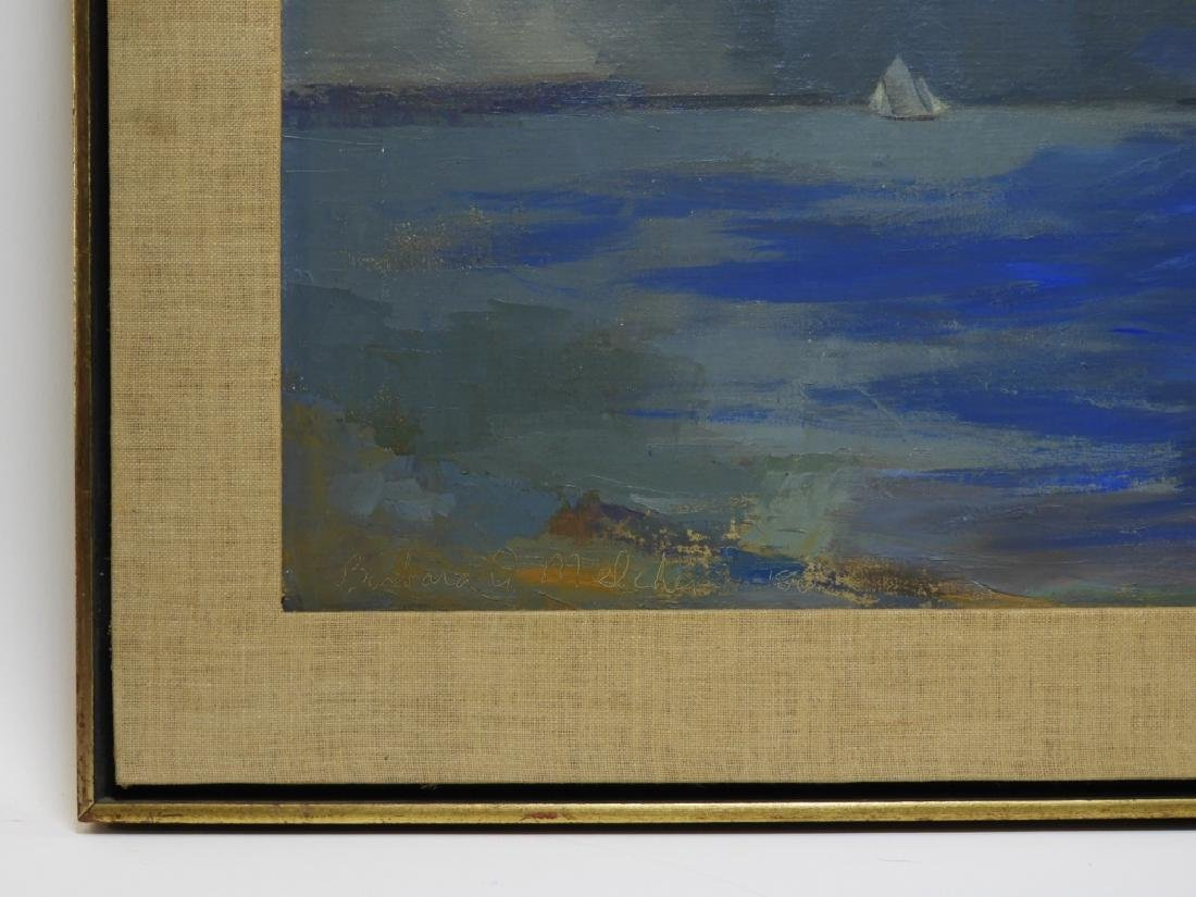 Barbara A. Melcher O/C Seascape Sailboat Painting - 4