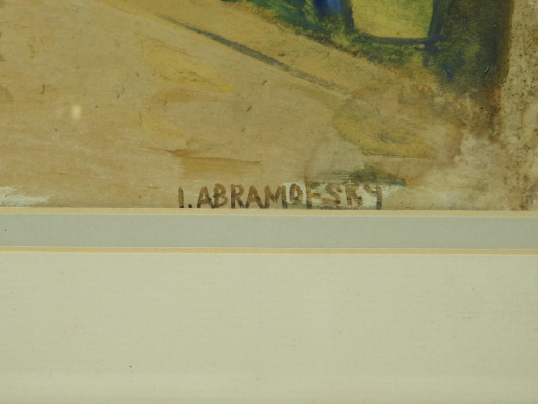 Israel Abramofsky Impressionist Boardwalk Painting - 5