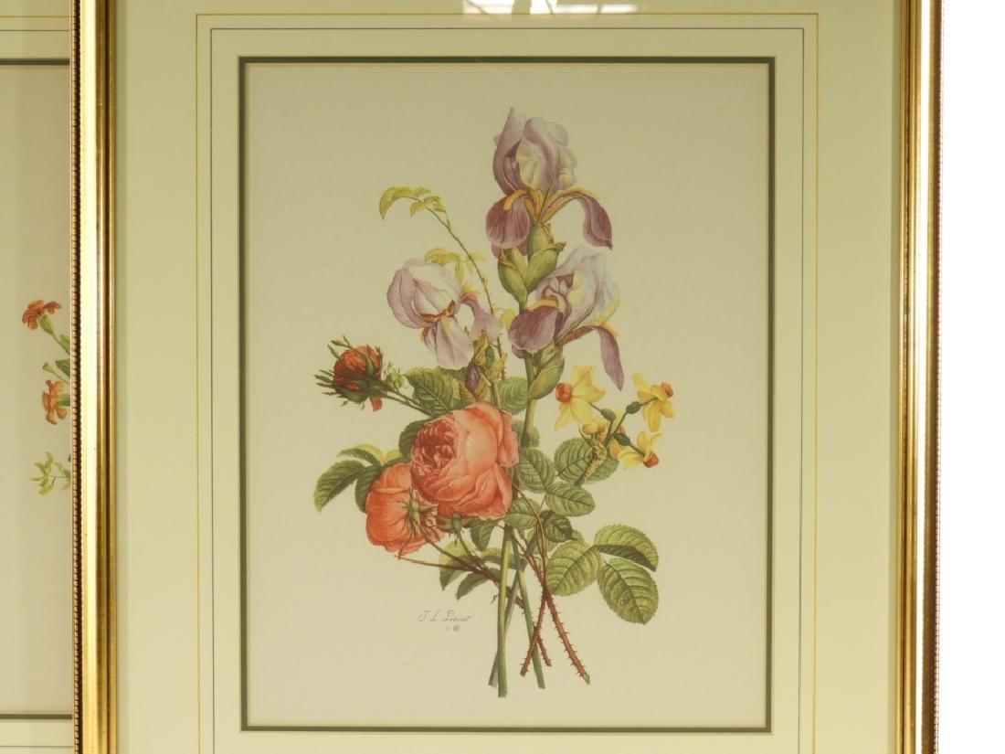 4 Prevost Decorative Floral Spray Botanical Prints - 2