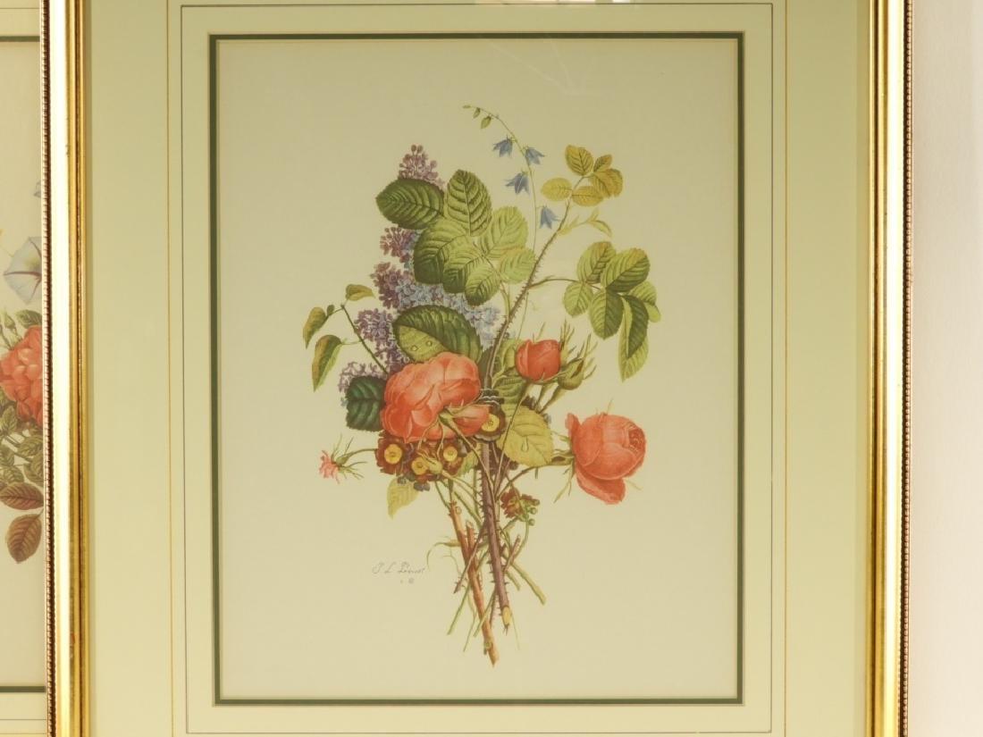 4 Prevost Decorative Floral Spray Botanical Prints - 4