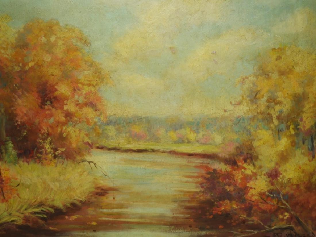 Raymond Hammell Autumn Landscape Painting - 2