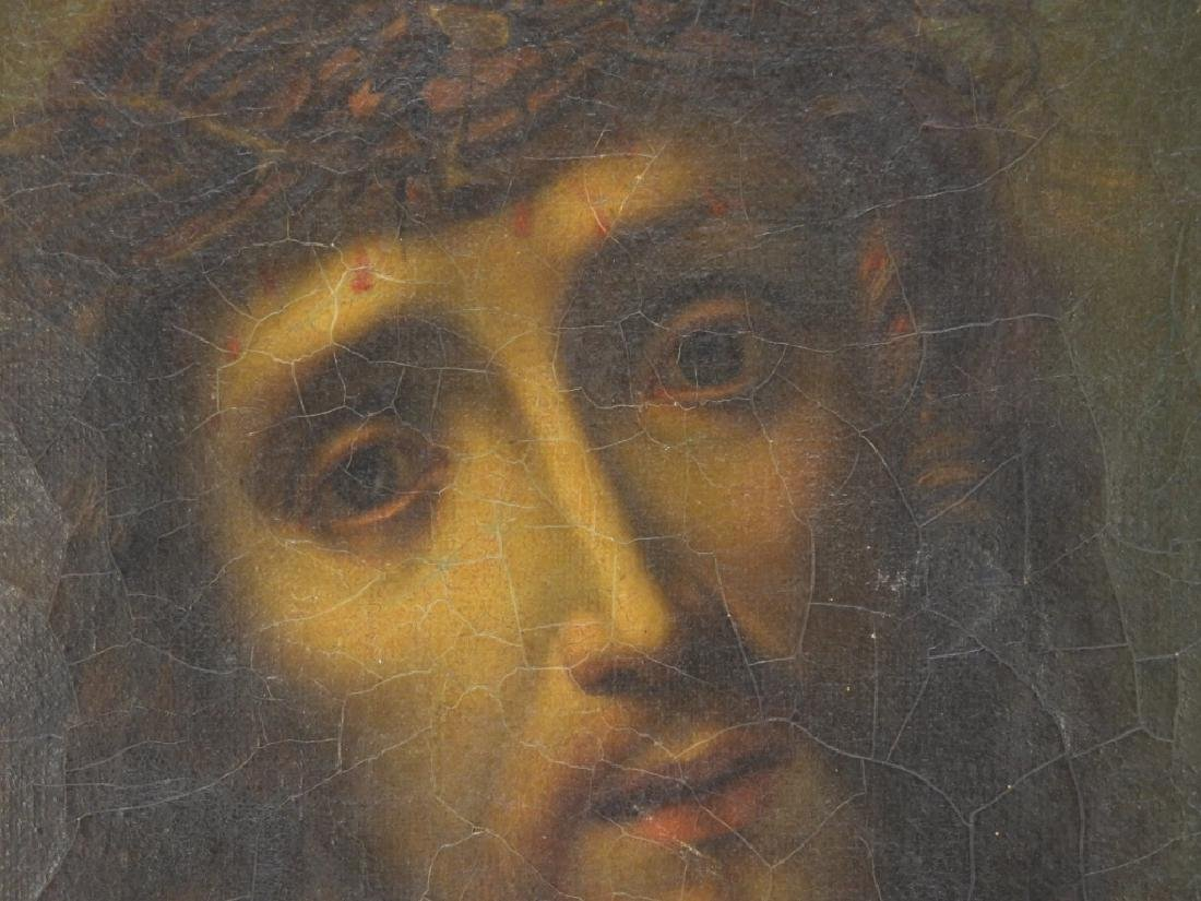 Italian Old Master O/C Painting of Jesus Christ - 3