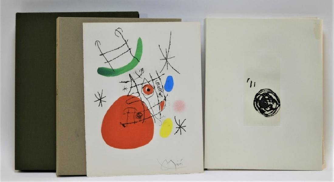 Joan Miro El Inocente Complete Etching Portfolio