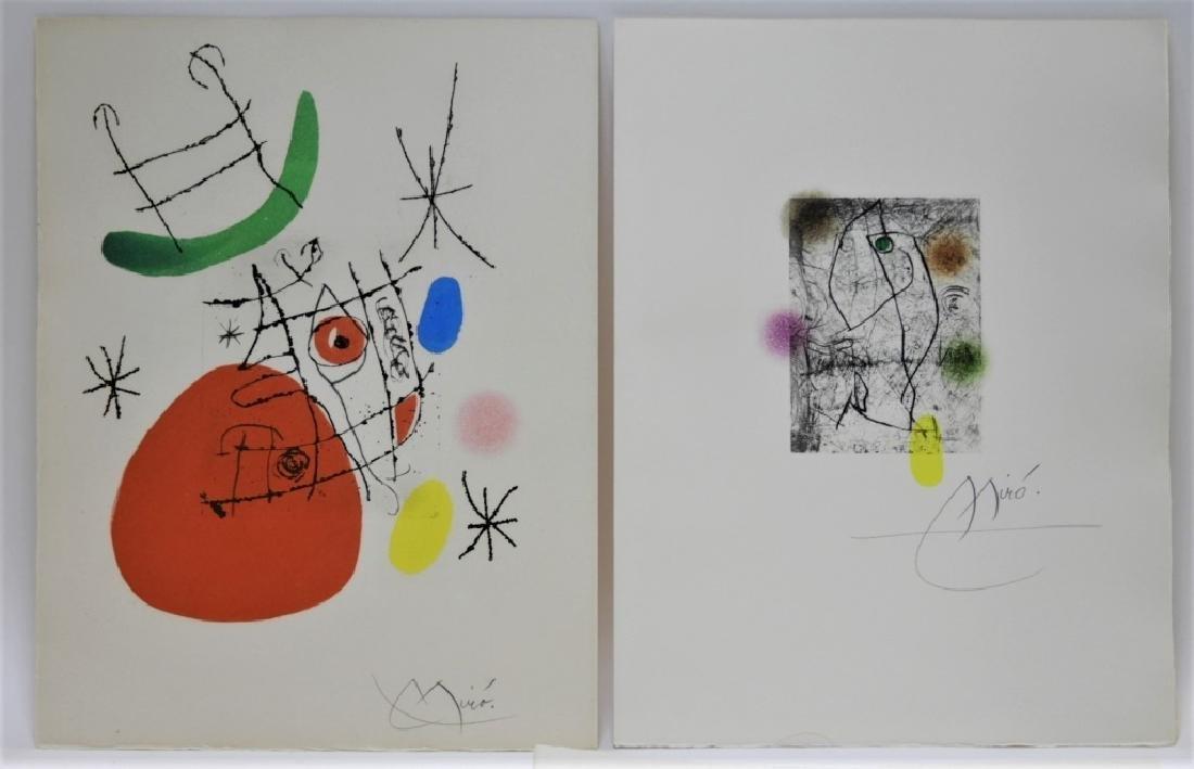 Joan Miro El Inocente Complete Etching Portfolio - 7