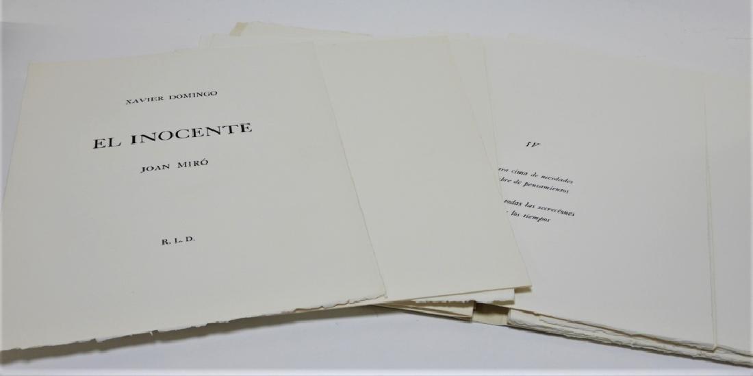 Joan Miro El Inocente Complete Etching Portfolio - 8