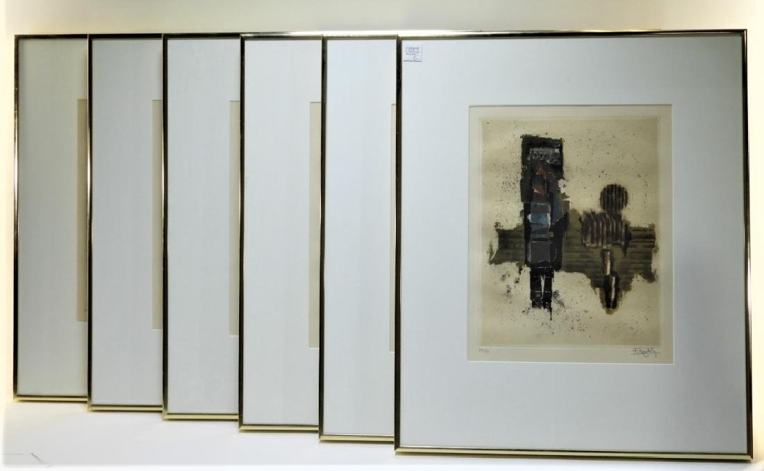 6PC Johnny Friedlander Illuminations Etching