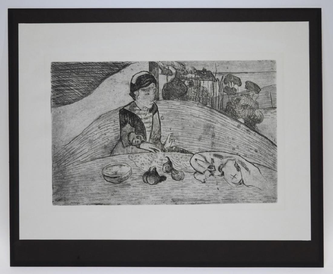 Paul Gauguin La Femme aux Figues Etching - 2