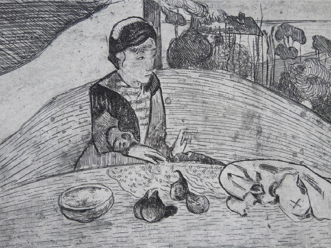 Paul Gauguin La Femme aux Figues Etching - 3