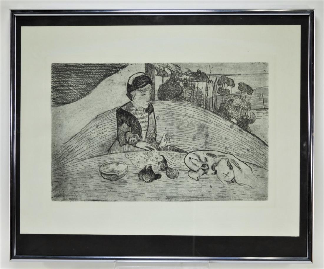 Paul Gauguin La Femme aux Figues Etching - 5
