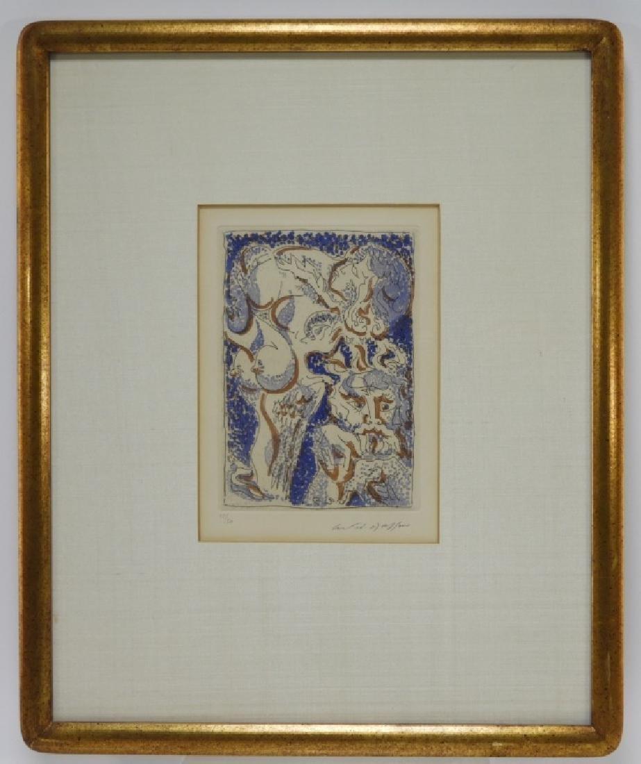 Andre Masson Artist Portrait Metamorphoses Etching - 2