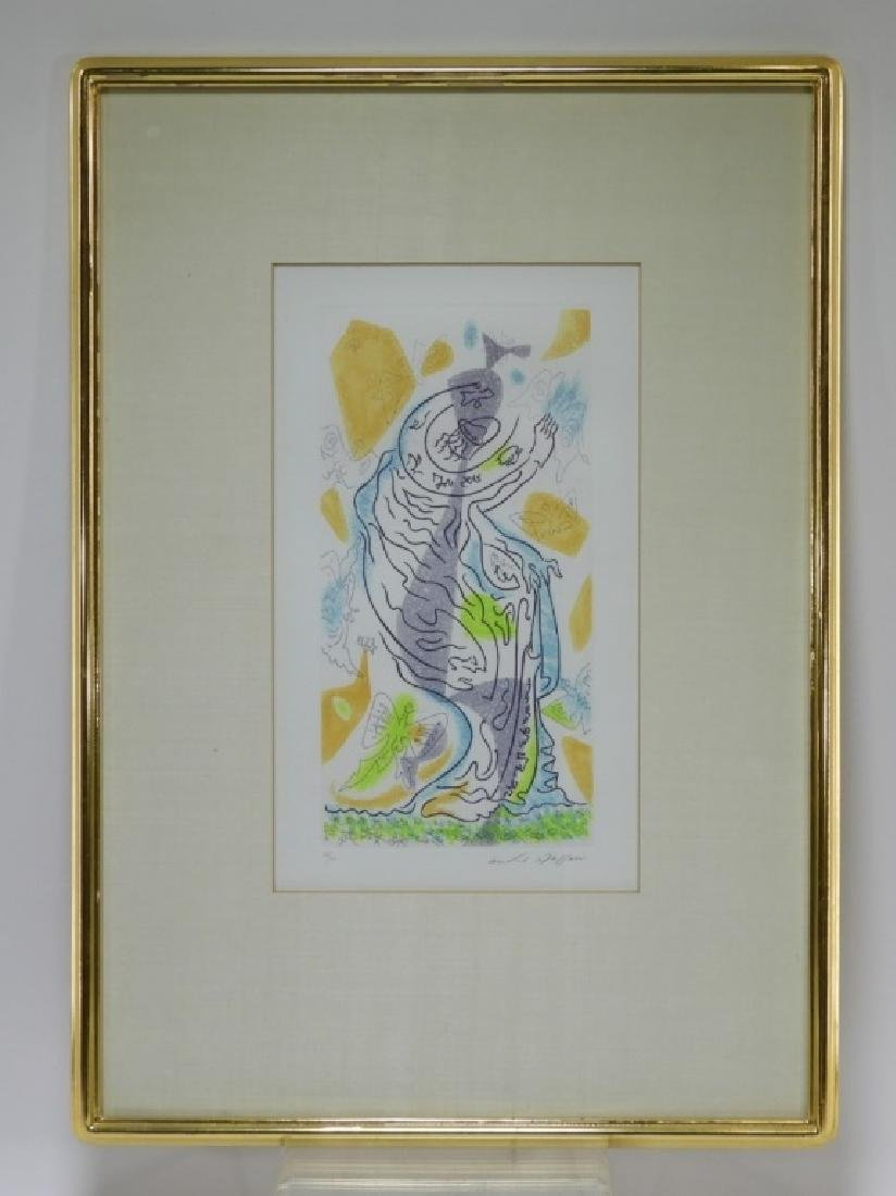 Andre Masson Charming Butterflies Etching Aquatint - 2
