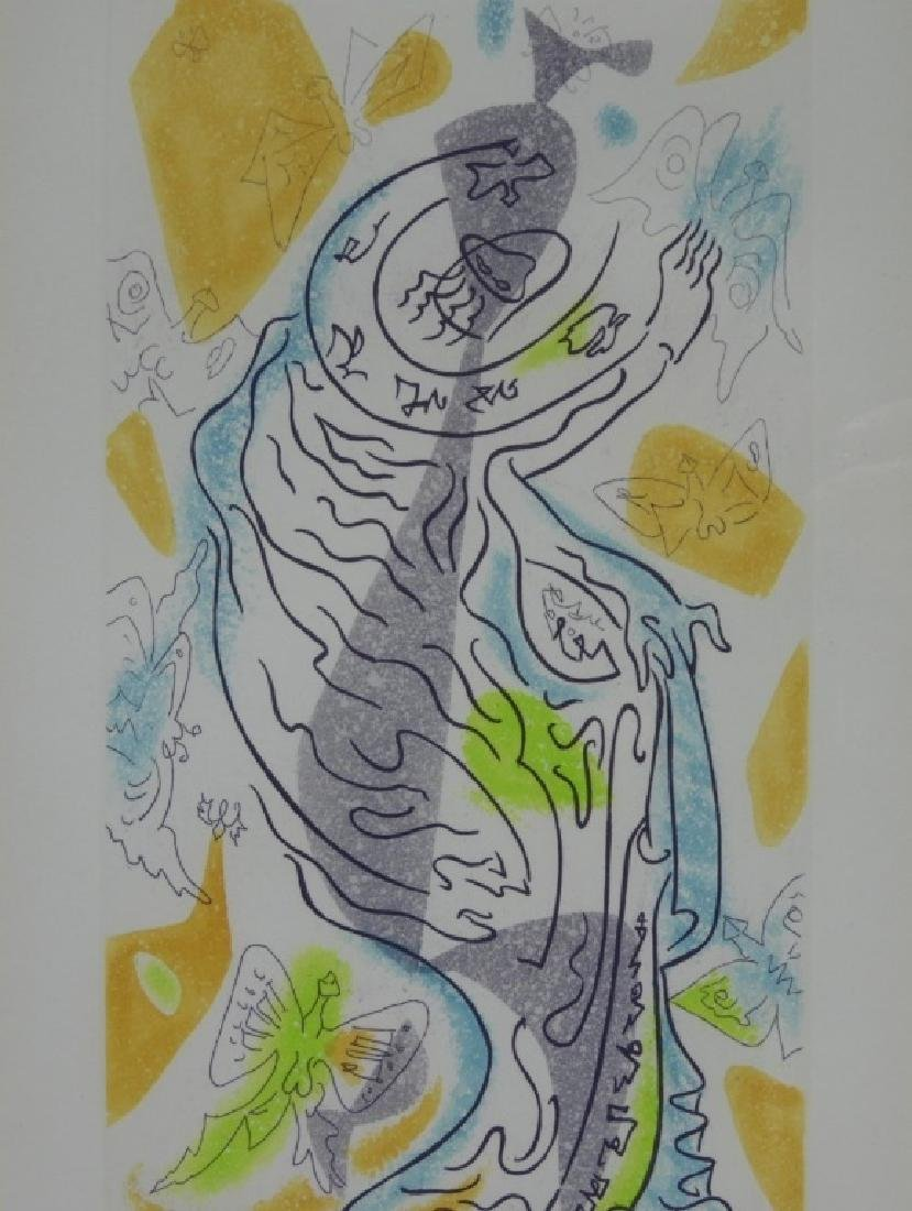 Andre Masson Charming Butterflies Etching Aquatint - 3