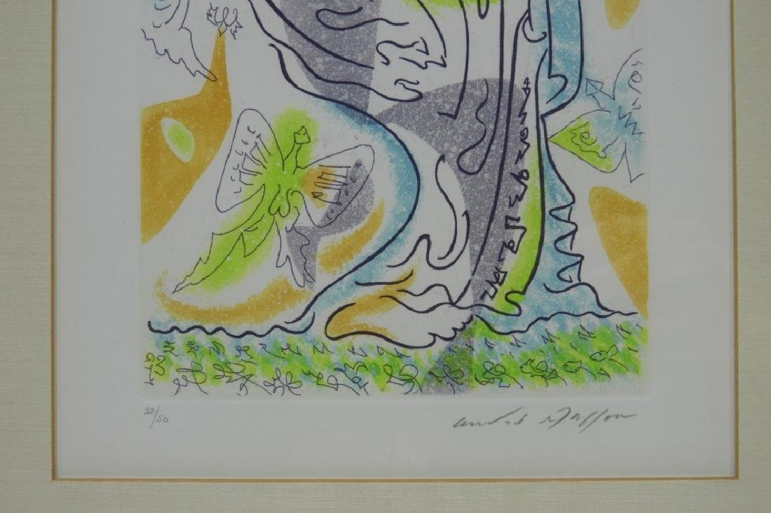 Andre Masson Charming Butterflies Etching Aquatint - 4
