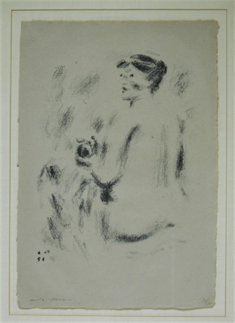 Andre Masson Seated Nude Drypoint Etching 21/30