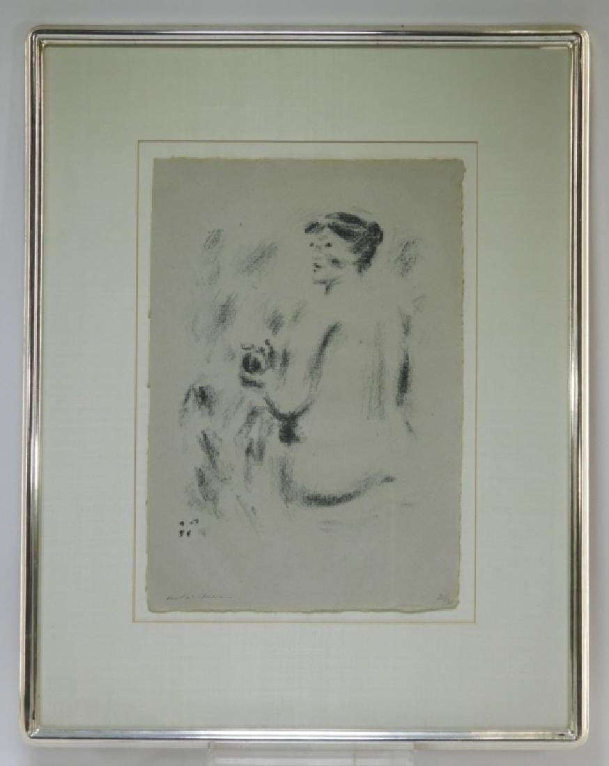 Andre Masson Seated Nude Drypoint Etching 21/30 - 2