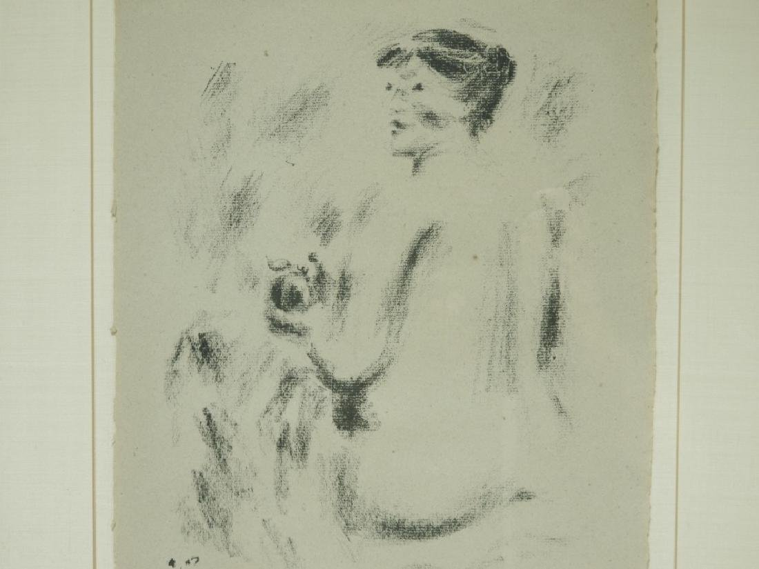Andre Masson Seated Nude Drypoint Etching 21/30 - 3